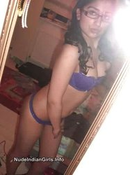 Sexy Indian GF Taking her Nude Boobs Pics in Her Bedroom
