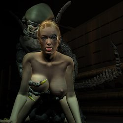 Seven of Nine and Alien