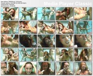 Underwater threesome