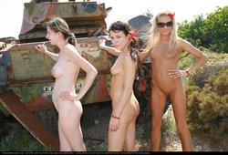 Greek Military Tank Gals