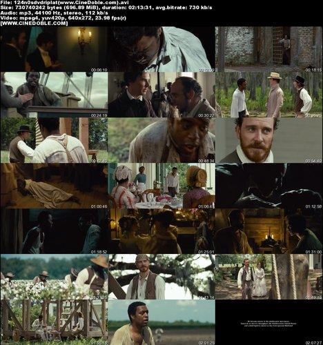 ymegsn6jyes1 t 12 de Años de Esclavitud (2013) Latino DVDRip