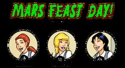 Martian Family - Mars Feast Day