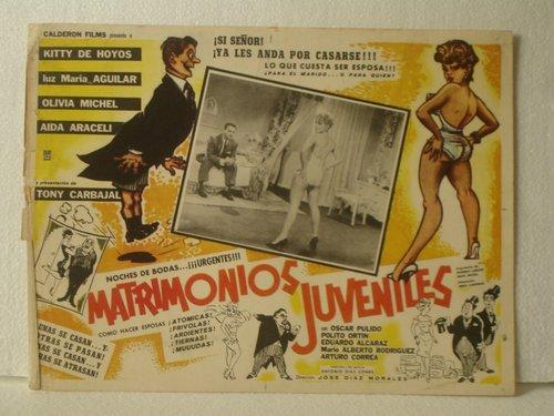Resultado de imagen para MATRIMONIOS JUVENILES PELICULA