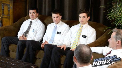 MormonBoys - Elders Gonzalez, Hardt & Harward