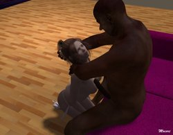 Moiarte-Interracial 3D comic