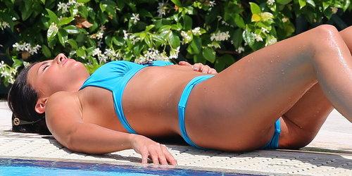 Lucy Mecklenburgh wearing sexy bikini in Rome 52x UHQ