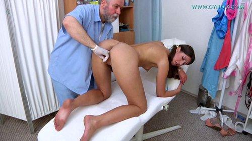 Open gay rectal examination