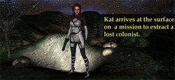Not from this world - Kat to the Rescue
