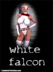 Captured-Heroines - White Falcon