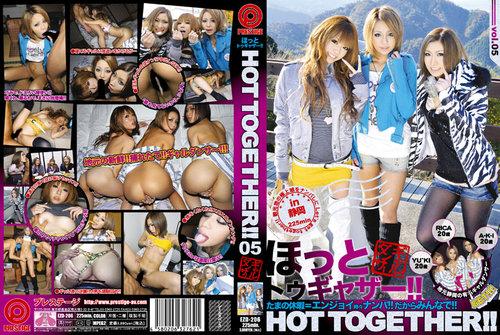 ty2f79r2pl4y t [Prestige] Hot Together 5 ( Aki Nishimiya , Yuki Mukai , Rika Ayane )   EZD206