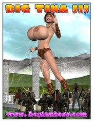 BEGiantess-Big Tina porn comic