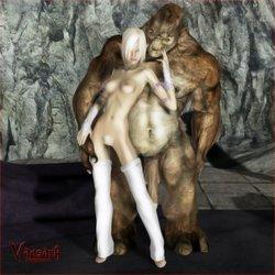 Vaesark-CG 01 - Elf and troll