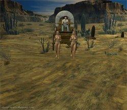 Lynortis-Ponygirl-Wild West