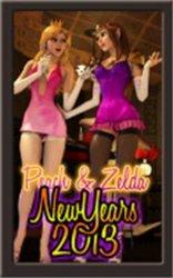 MongoBongo-Peach2-Peach&Zelda-NewYears2013