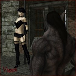 Vaesark-CG 23 - Sarah and the werewolf