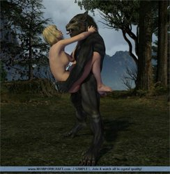 Girls and werewolfs