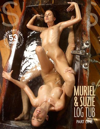 Hegre-Art - Muriel And Suzie - Log Tub