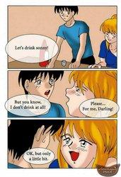 ANIMATEDINCEST - Drunk sonny saved his mom
