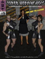 Wikkedlester-Super Heroine Heat Issue 09