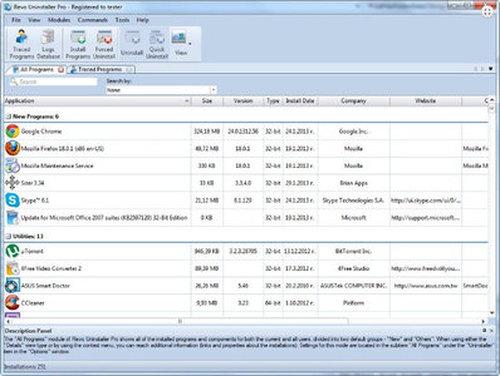 Revo Uninstaller Pro 3.1.0 Multilanguage incl Crack