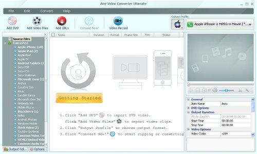Any Video Converter Ultimate v5.7.2 Multilanguage incl Keygen