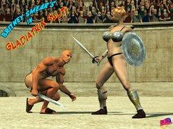 3DAdultcomics-Gladiatrix Slut