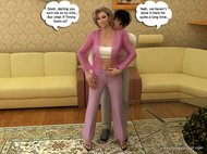 Free Download Porn Comics Drawingincest - Hung mom shares her pink holes with her husband and son