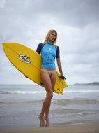 Hegre-Art - Patti - The Naked Surfer