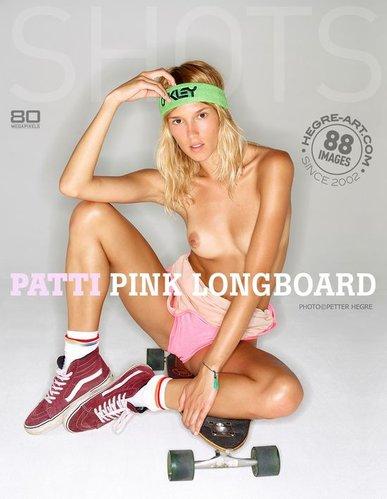 Hegre-Art - Patti - Pink Long Board