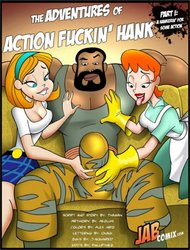 Jabcomix-The Adventures Of Action Fuckin Hank
