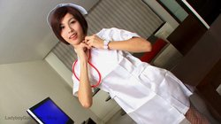 LadyboyGold – Shuy – Fresh Faced Cosplay Stroking