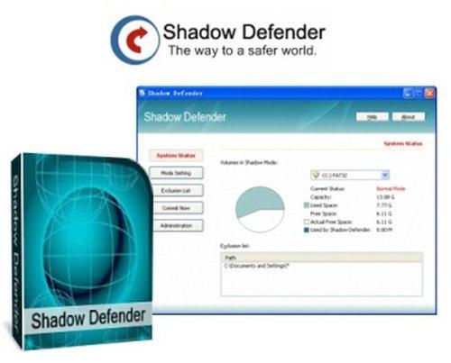 Shadow Defender 1.4.0.566 Final  incl Keygen Serial