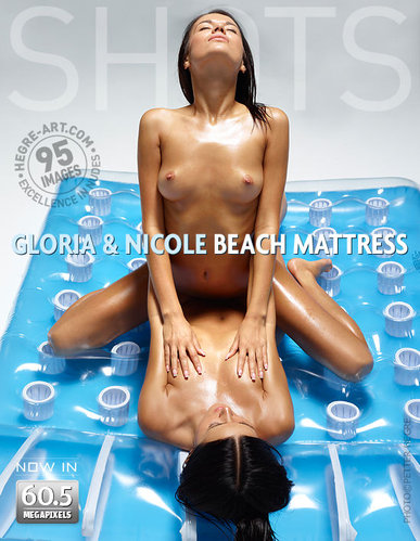 Hegre-Art - Gloria & Nicole - Beach Mattress