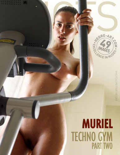 Hegre-Art -  Muriel - Techno Gym