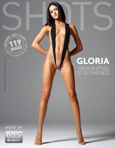 Hegre-Art  Gloria  American Apparel Cut Out Pantyhose