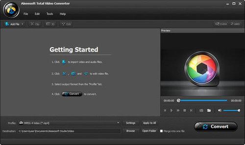 Aiseesoft Total Video Converter v8.0.8 incl Crack