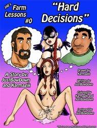 Jabcomix-Farm lessons 0 - Hard decision COMIC
