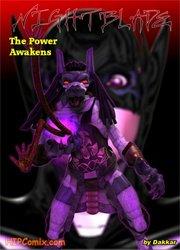 Dakkar - Nightblade-The Power Awakens - 3D Comics, Seduced